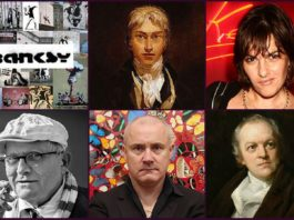 Famous British Artists Featured