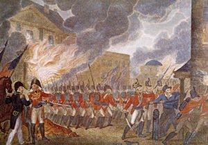 Burning of Washington DC by the British