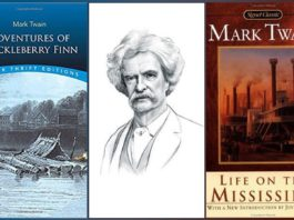 Mark Twain Famous Books Featured