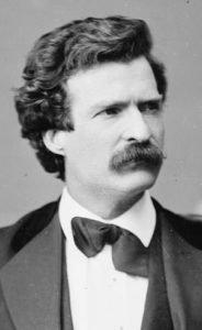 Mark Twain in February 1871