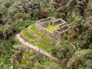 Qunchamarka tambo on Inca Trail