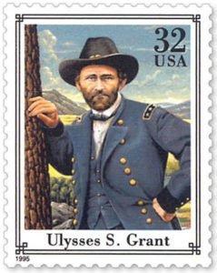 Ulysses S. Grant 1995 postage stamp