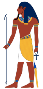 Depiction of Atum