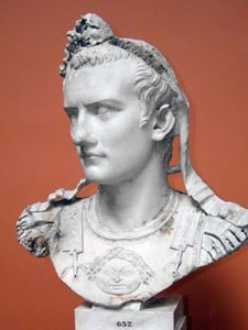 Bust of Caligula in Copenhagen