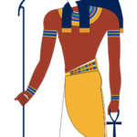 Depiction of Horus