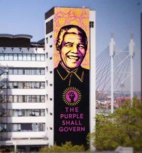 Nelson Mandela Mural (2014)