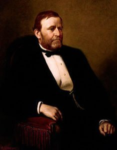 Ulysses S. Grant presidential portrait