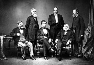The American High Commissioners to the Treaty of Washington