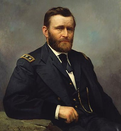 1866 Portrait of Ulysses S. Grant