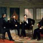 General Grant, President Lincoln, General Sherman and Admiral Porter