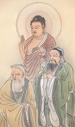 Confucius, Gautama Buddha & Laozi