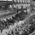 Funeral procession for Ulysses S. Grant