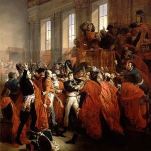 Coup of 18 Brumaire painting
