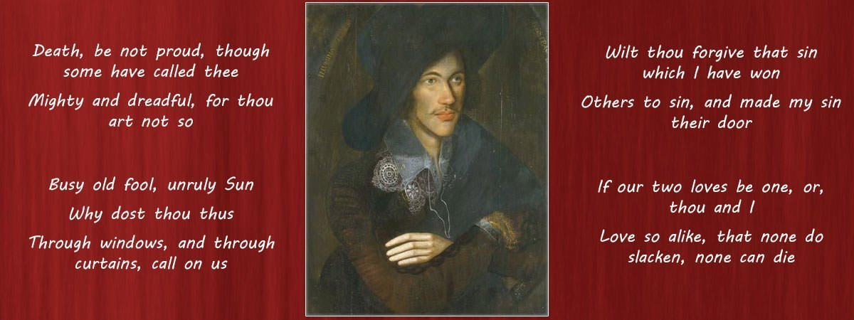 John Donne Famous Poems Featured