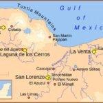 Olmec civilization map