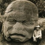 Olmec Colossal Head at La Venta