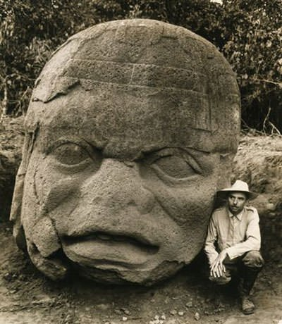 Olmec Colossal Head at La Venta