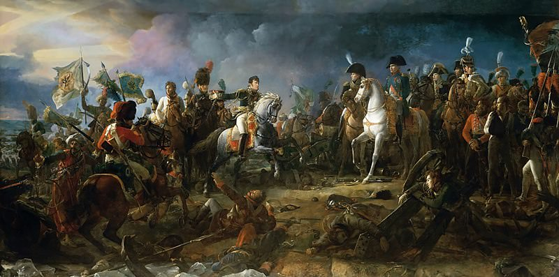 Napoleon at the Battle of Austerlitz