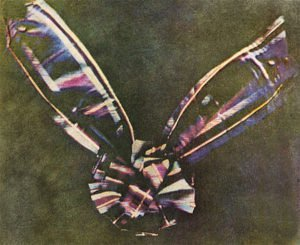 World's first color photo