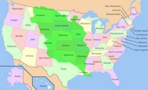 Territory of Louisiana Map