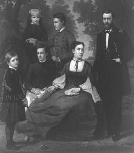 Ulysses Grant and his family
