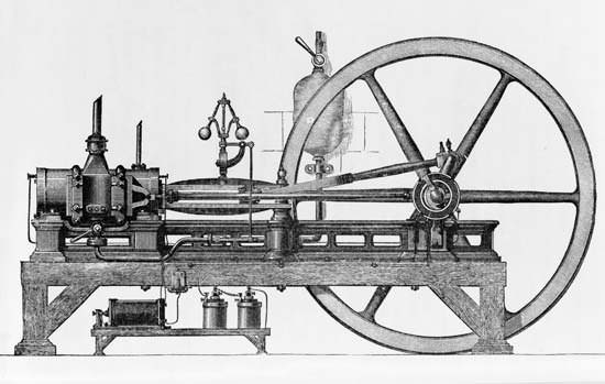 Three-horsepower internal-combustion engine