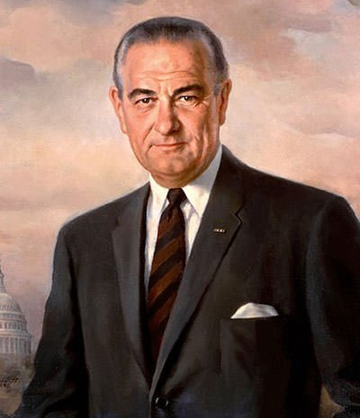 Lyndon B. Johnson Presidential Portrait