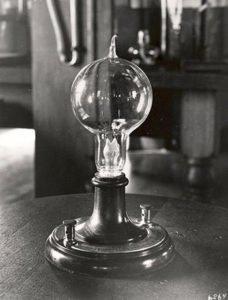 Incandescent Light Bulb of Thomas Edison
