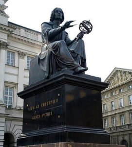 Statue of Copernicus in Poland