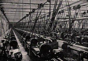 Lancashire cotton mill