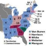 1836 U.S. election electoral college
