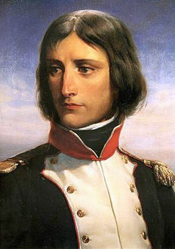Napoleon Bonaparte at the age of 23