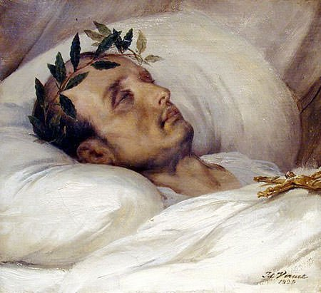 Napoleon on His Death Bed
