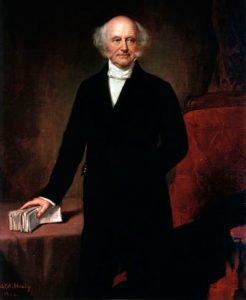 Martin Van Buren presidential portrait
