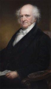 Martin Van Buren portrait as governor