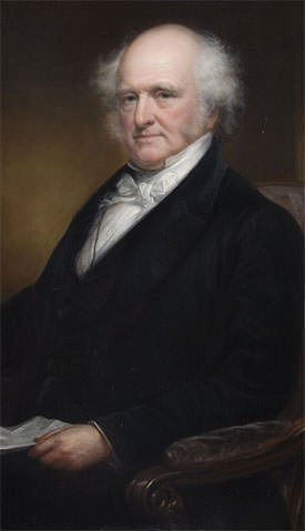Martin Van Buren portrait as governor