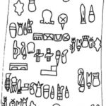 The Olmec Cascajal Block glyphs