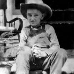 Lyndon Johnson as a kid