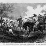 Marais des Cygnes massacre during Bleeding Kansas