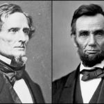 Jefferson Davis and Abraham Lincoln