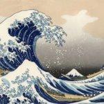The Great Wave off Kanagawa (1833)