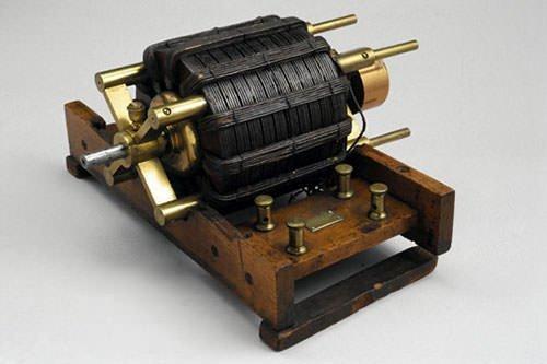 A Tesla AC Induction Motor