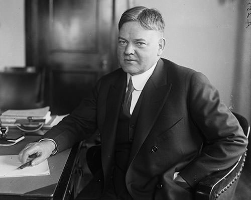 Herbert Hoover as Department of Commerce Secretary