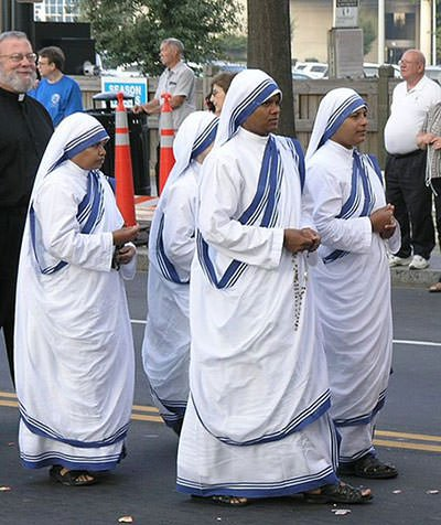 Missionaries of Charity sisters