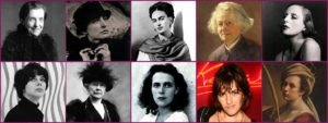 Famous Female Painters Featured