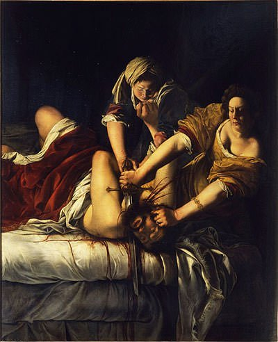 Judith Slaying Holofernes (1620)