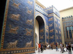 Reconstruction of the Ishtar Gate