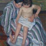 The Child's Bath (1893)