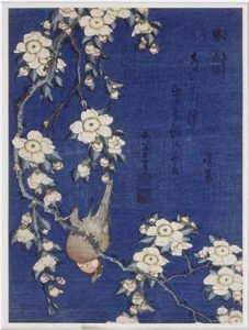 Bullfinch And Weeping Cherry Blossoms (1834)