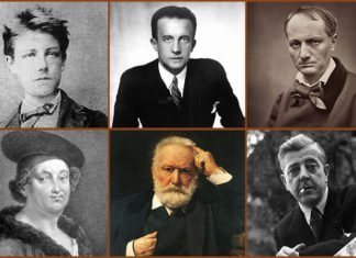 Famous French Poets Featured